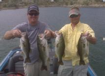 Bass Caught on Lake Amistad Choke Canyon or Falcon Lake